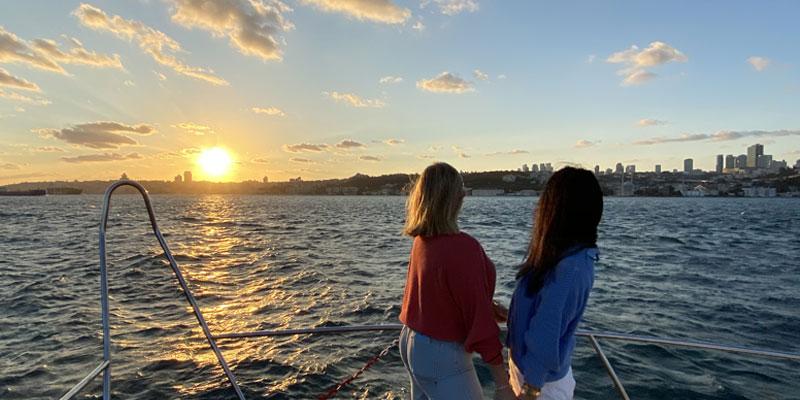 Sunset Yacht Cruise Istanbul Bosphorus